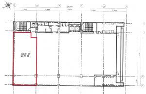 創建本町ビル4階間取り図