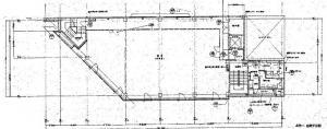 中央内本町ビル基準階間取り図