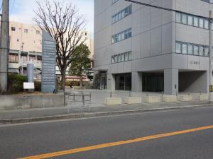 JEI京橋ビル1階エントランス