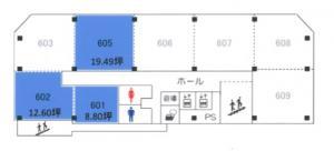 大阪産業ビル間取り図