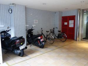 西天満ワークビル駐輪スペース