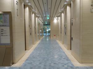 ツイン21(MIDタワー・TWIN21)ビルエレベーターホール