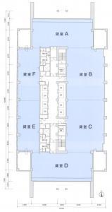 大阪中之島ビル間取り図