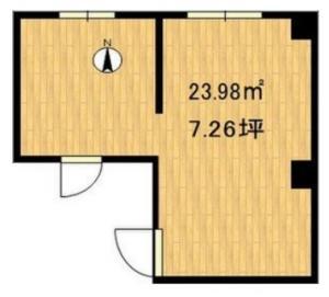 ミトオリアートビル302号室間取り図