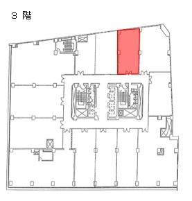 三共梅田ビル3階間取り図