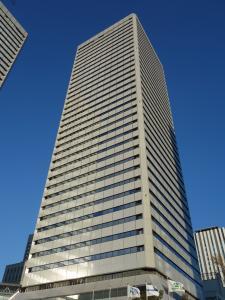 ツイン21(MIDタワー・TWIN21)ビル外観