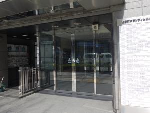 上本町グランディムビルエントランス