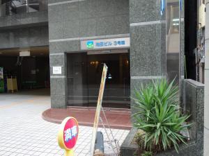 池田ビル3号館エントランス