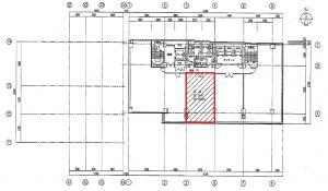 ヒューリック難波ビル4階間取り図