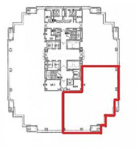 ピアスタワー6階間取り図