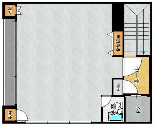 サンロードビル7階間取り図