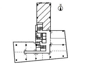 千代田第1ビル4階間取り図