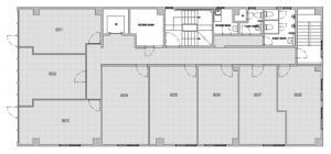RE-012 8階間取り図