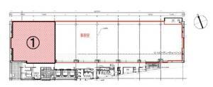 堂島プラザビル9階間取り図