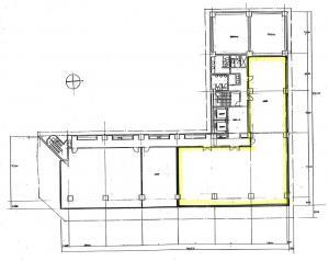 TEK第2ビル5階間取り図