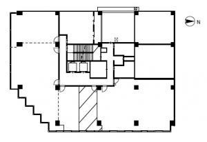新大阪八千代ビル別館2階間取り図