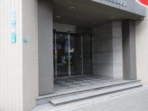 日本ロジックス大阪東野田ビルエントランス
