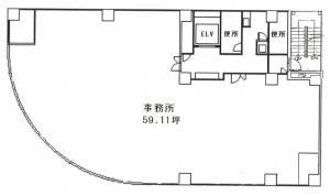 ウインビル(WINビル)基準階間取り図