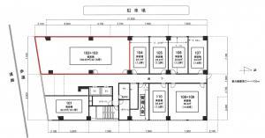 新大阪丸ビル新館1階間取り図