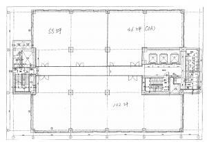 三木産業ビル3階間取り図