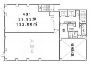 サカイビルディング4階間取り図