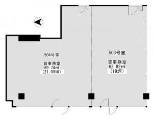 グレーシィ天神橋ビル2号館5階