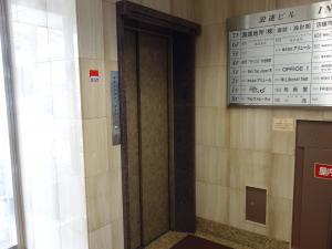 本社浪速ビルエレベーター