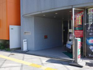 堂島松本ビルエントランス