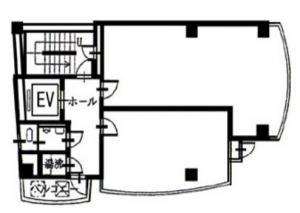 四ツ橋GTCビル(YOTSUBASHI GTC BLDG)基準階間取り図