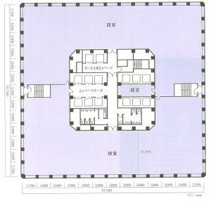 大阪国際ビルディング間取り図