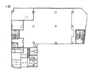 和田ビル本館4階間取り図