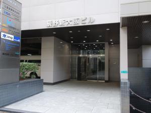 辰野新大阪ビルエントランス