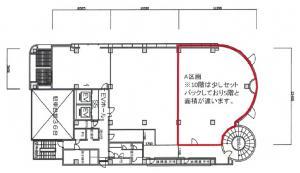 アソルティ本町ビルA号室間取り図