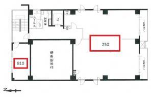 安堂寺第17松屋ビル基準階間取り図