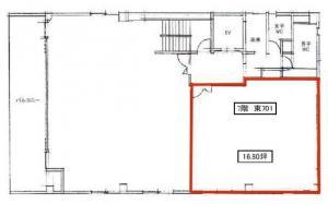 リードシー新大阪ビル(REID-C新大阪ビル)7階間取り図