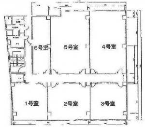 三洋ビル基準階間取り図