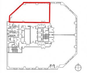 田村駒ビル6階間取り図