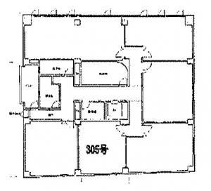 第一スエヒロビル3階間取り図