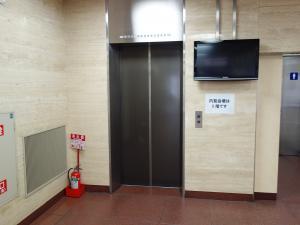 電子会館ビルエレベーター