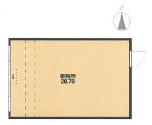 淀屋橋ホワイトビル4階間取り図