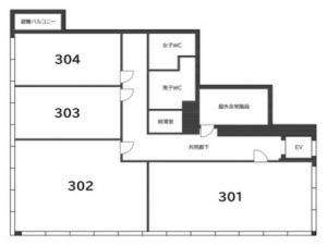 G&Rビル3階間取り図