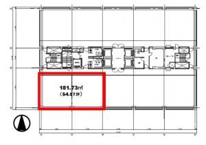 北浜ネクスビルディング19階間取り図