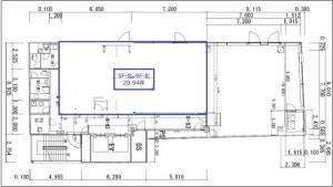 辰野本町ビル5階間取り図