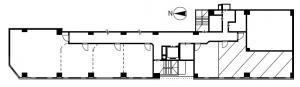 天満橋八千代ビル別館C'D号室間取り図