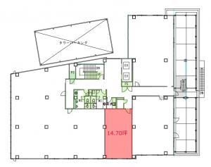 東陽ビル4階間取り図