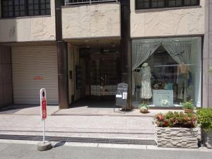 高麗橋田中ビルエントランス