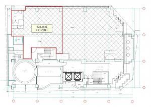 MID西本町ビル1階間取り図