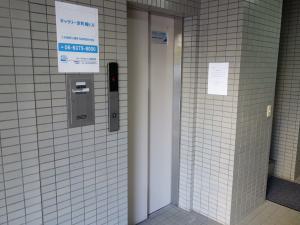 ギャラリー京町堀ビルエレベーター