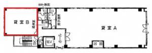 本町イシカワビル8階間取り図