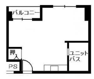 第三丸米ビル7階間取り図